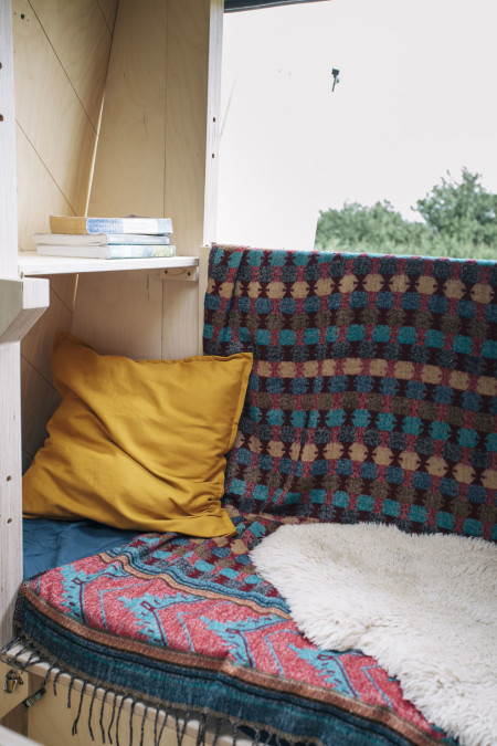 Or you might like a cosy sofa at the back to read until the sun goes down?