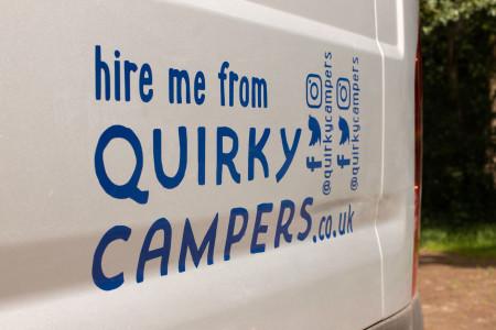 Quirky Camper sticker