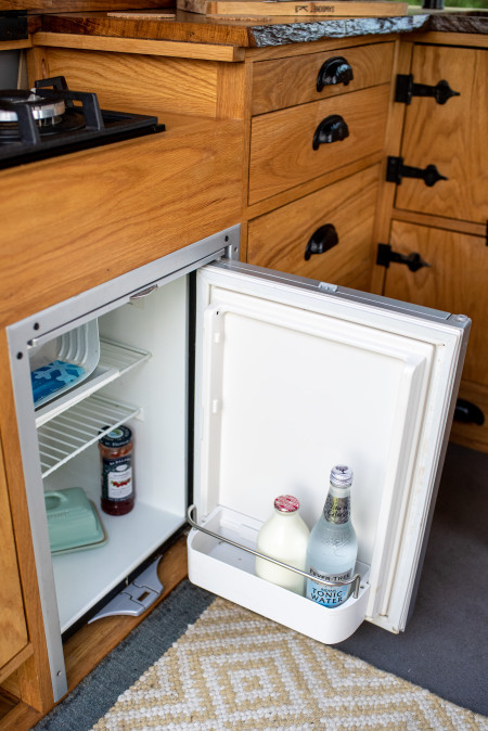 45 Litre fridge freezer that runs on solar