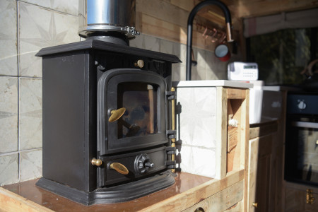 Wood-burner stove and diesel heater