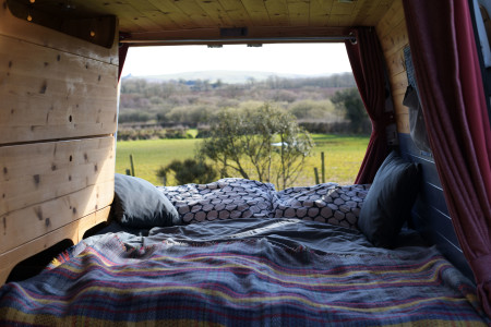 Bed with a view, what is not to love waking up to views like this out your back door!