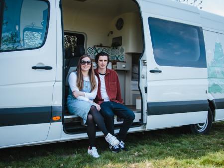 Jess & Josh - Orla's owners