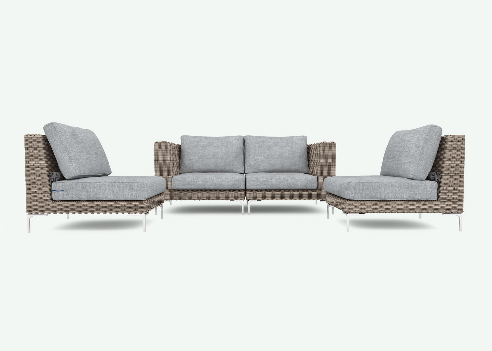 Peachy Outer The Most Comfortable Durable Outdoor Sofa Home Interior And Landscaping Palasignezvosmurscom