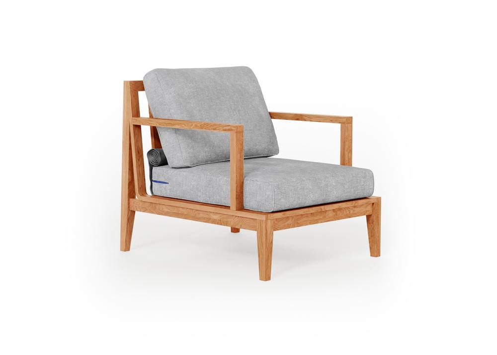 Teak Outdoor Armchair