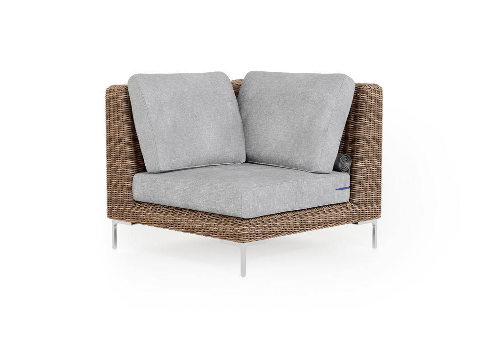 Wicker Outdoor Sectional Chair
