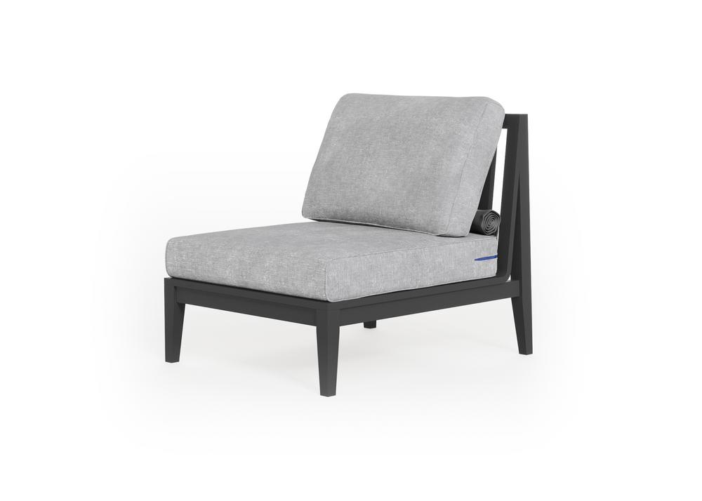 Aluminium Outdoor Armless Chair
