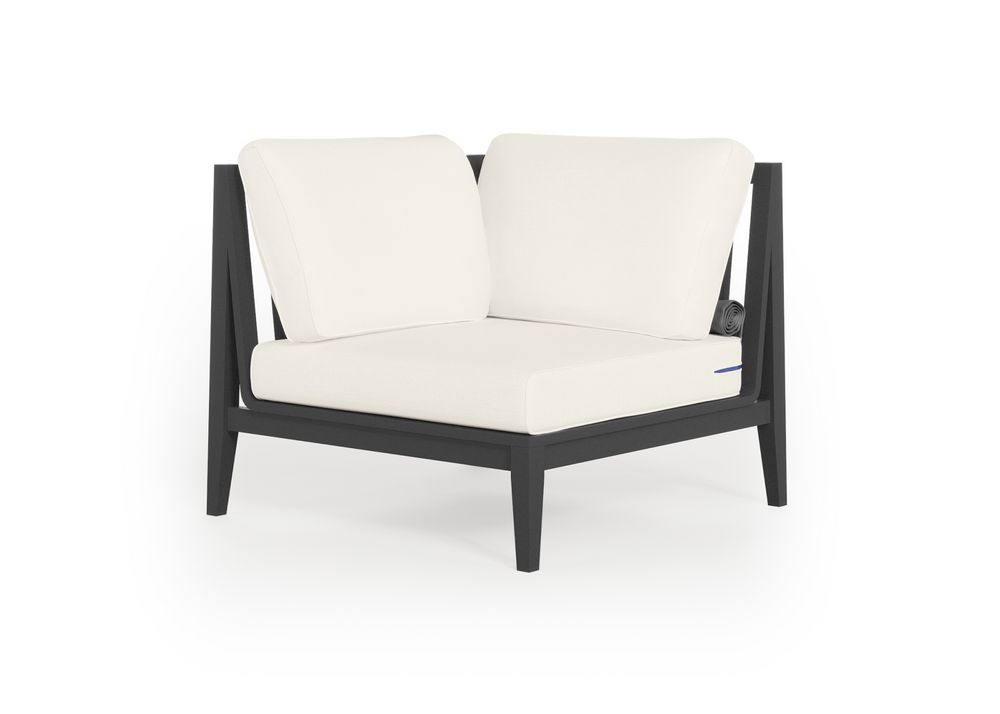 Aluminium Outdoor Sectional Chair - Right