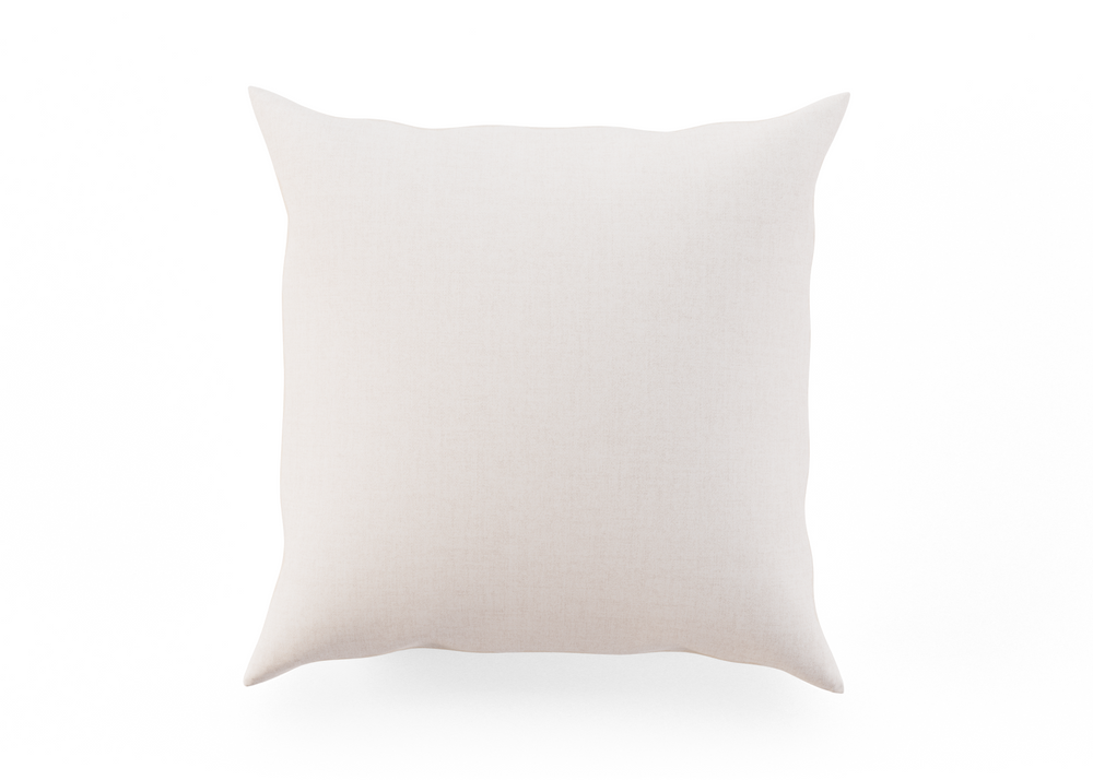 Outdoor Throw Pillow - Ivory Left