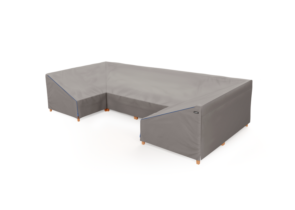 Cover for Teak U Sectional - 6 Seat