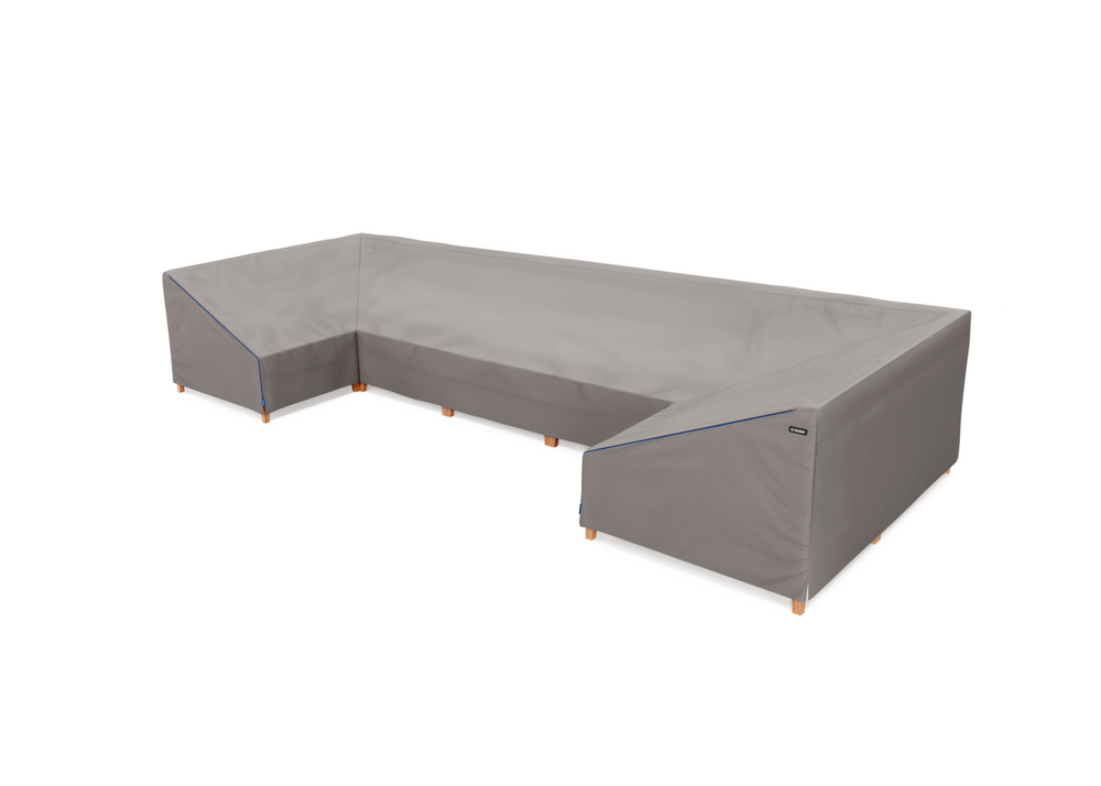 Cover for Teak U Sectional - 7 Seat