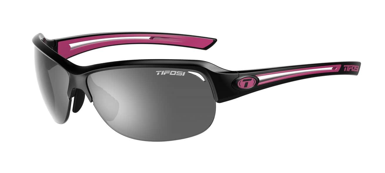 Tifosi Mira Black/Pink w/ Smoke
