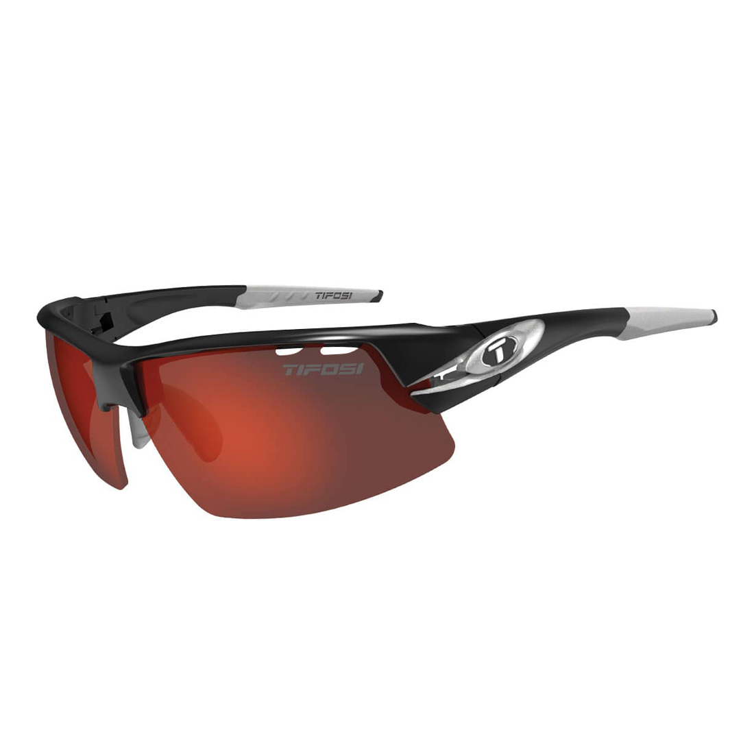 Tifosi Crit Race Silver/Clarion Red/AC Red/Clear