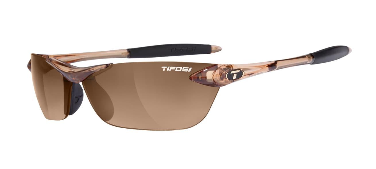 Tifosi Seek Crystal Brown W/ Brown Gradient Lenses