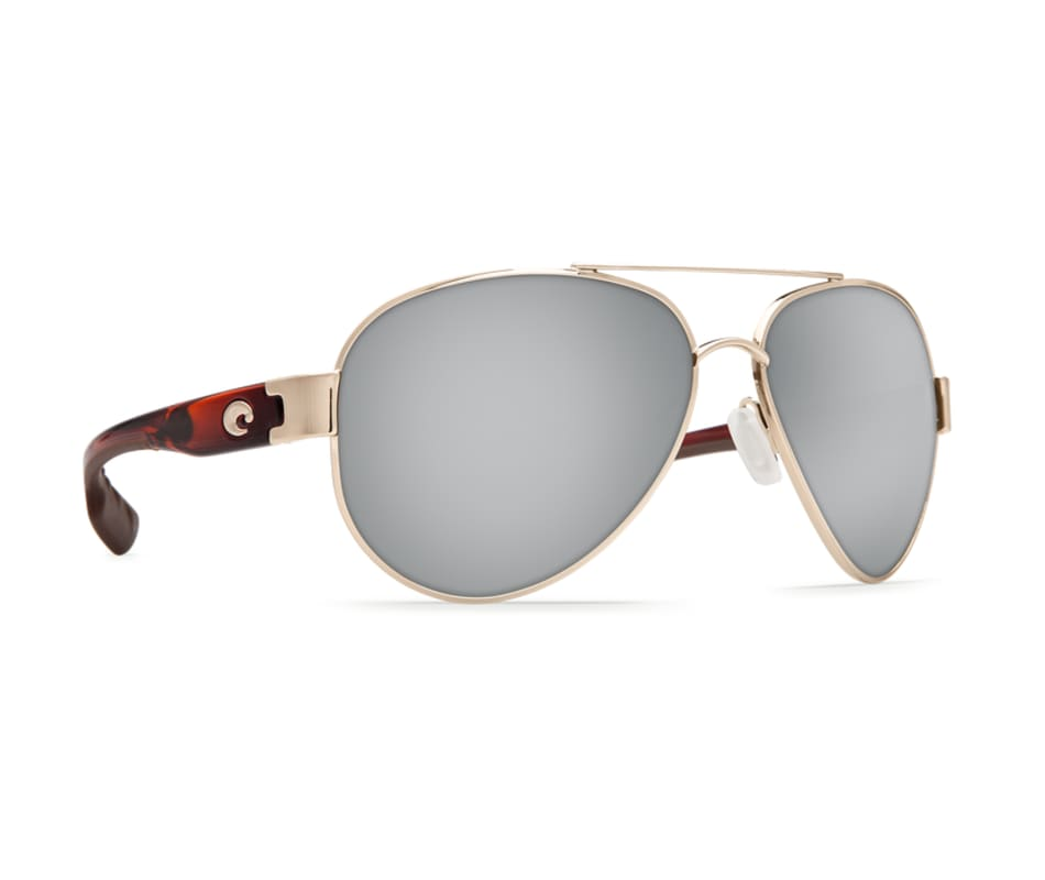 633661c9dc Costa Del Mar South Point Sunglasses - Rose Gold W Light Tortoise Temples -  Gray 580P