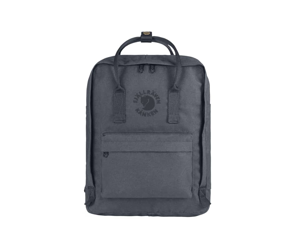 Fjallraven Re-Kanken Recycled and Recyclable Kanken Backpack for Everyday Slate