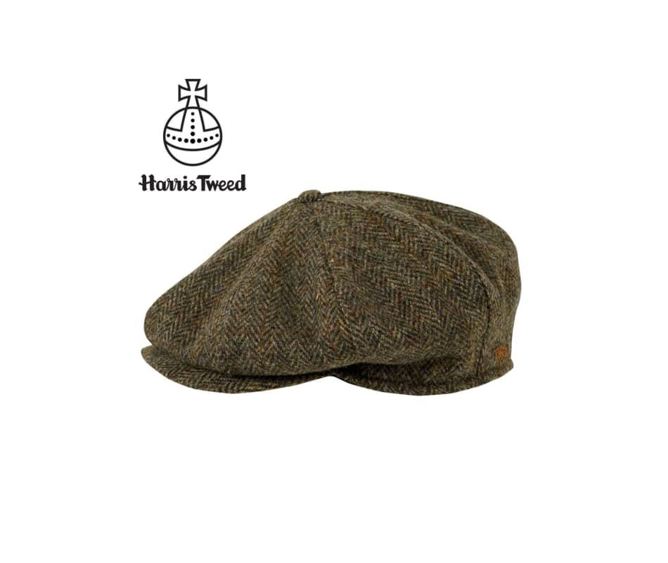 b7b6654d5657d Tilley Endurables TNC1 Newsboy Cap (Brown Plaid - L)
