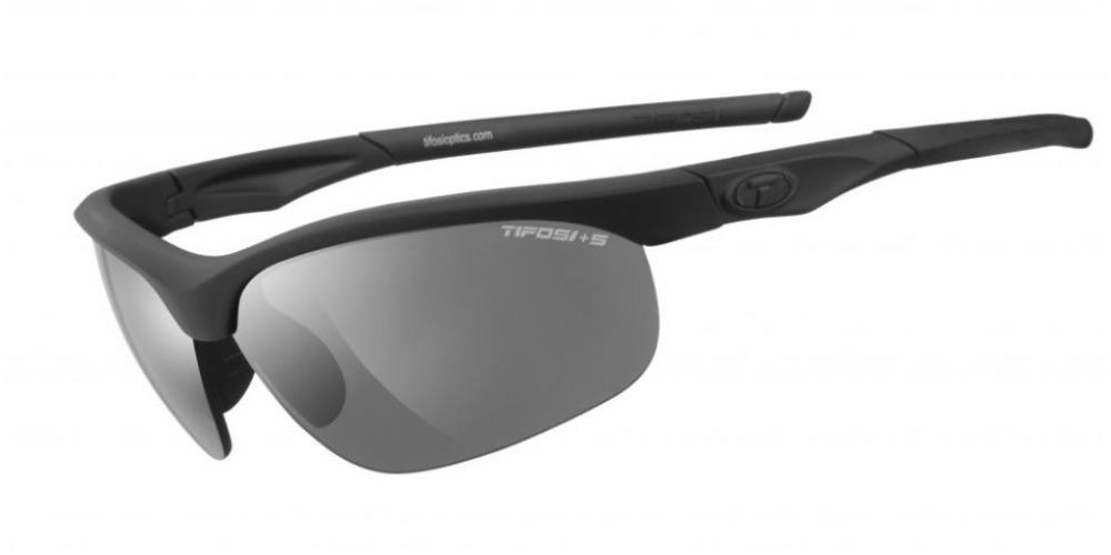 Tifosi Z87.1 Veloce Matte Black Tactical w/ Smoke Lens