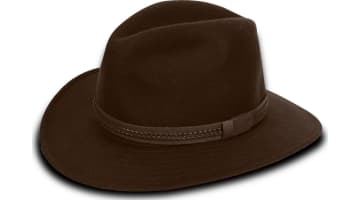 Tilley Twf1 Fedora - Dark Brown - 77 8 826486439673  70af1bb5d0dc