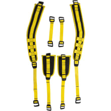 3-point Thigh-strap Kit - Black / Yellow