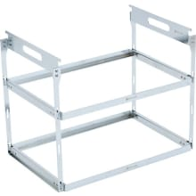 Iron Grill Table Hanging Rack - 2 Shelf Set