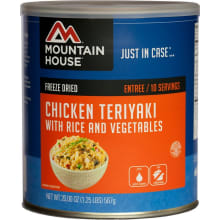 Chicken Teriyaki with Rice - 10 Can