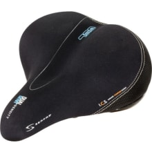 Women's Full Suspension Saddle - Lycra Diamond Pattern