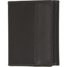 RFID Blocking Trifold Wallet - Black