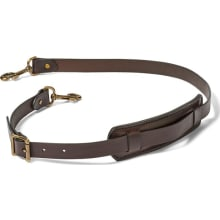 Wide Leather Shoulder Strap
