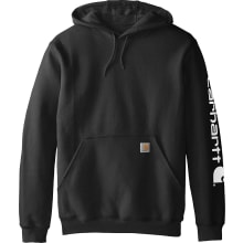 K288 Midweight Hooded Logo Sweatshirt