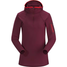 Women's Rho LT Hooded Zip Neck