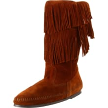 Women's 2-Layer Fringe Boot