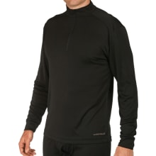 Men's Peach Solid Zip-t