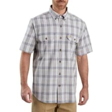 Men's Tw175 Original Fit Ss Plaid Shirt