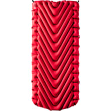 Insulated Static V Luxe Sleeping Pad - Red