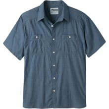 Men's Ace Indigo Short Sleeve Shirt