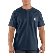 Force Cotton Short-Sleeve Henley Shirt
