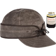 The Waxed Cotton Cap - With Benchwarmer Koozie