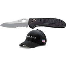 550SHG Pardue Griptilian - With Free Benchmade Hat