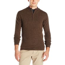 Men's Lodge Quarter Zip Sweater