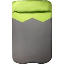V Sheet Double - Green/grey