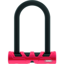 Ultimate 420 Security Level 10 U-Lock - Black / Red - 14Mm Diameter / 11.8