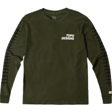 Men's Grid Tee Long Sleeve
