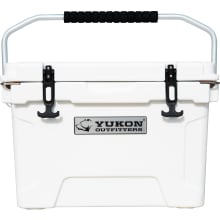 20 Qt Hard Cooler - White