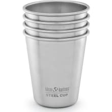 Steel Cup 4 Pack - 10 oz - Brushed Stainless