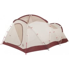 Flying Diamond 6 Person Tent - Wine/Tan