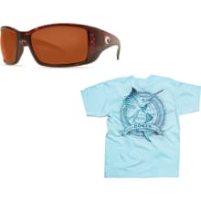 BlackFin 580G Copper Glass w/ Free Costa Shirt