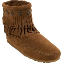 Women's Double Fringe Side Zip Boot