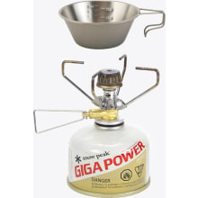 Gigapower Manual LiteMax Titanium Stove with Free Titanium Backpacker's Measuring Cup/Mug