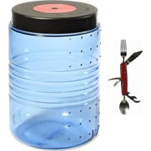 Bearvault BV500 Bear Resistant Food Container plus Chowset Knife