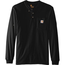 K128 Long Sleeve Workwear Henley